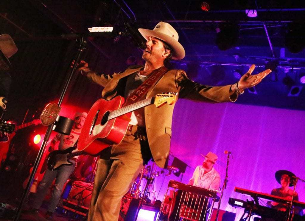 Feb. 29, 2020; Fort Worth, TX, USA; Midland performing at Billy Bob's Texas. Mandatory Credit: Velton Hayworth